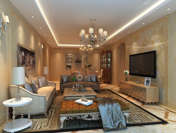 地面用浅米黄玻化砖800*800瓷砖斜拼大气整体。