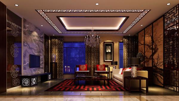 设计上采用了东南亚古典中式的风格,墙面的壁纸,及地面的亮光地砖,然后通过顶面的木线条装饰,打造出一个大自然的生活气息。后期的软装配饰及挂画,多采用植物及花草来衬托出家庭的一道亮丽的风景线。
