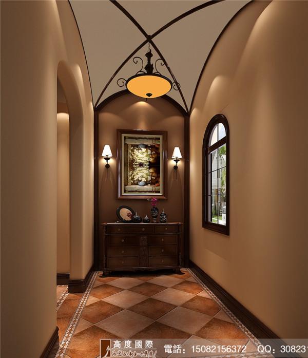 城南逸家门厅细节效果图-成都高度国际装饰