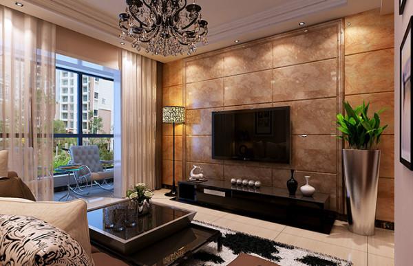 昌建誉峰两室两厅现代简约装修案例效果图