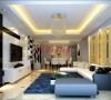 顶秀风尚:95平米两居室简约风