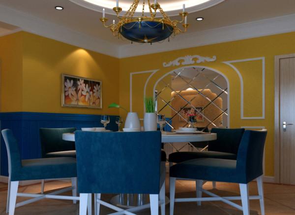 设计理念:在选色上,选择直逼自然的柔和色彩,在组合设计上注意了空间搭配,充分利用每一寸空间,流露古老的文明气息。