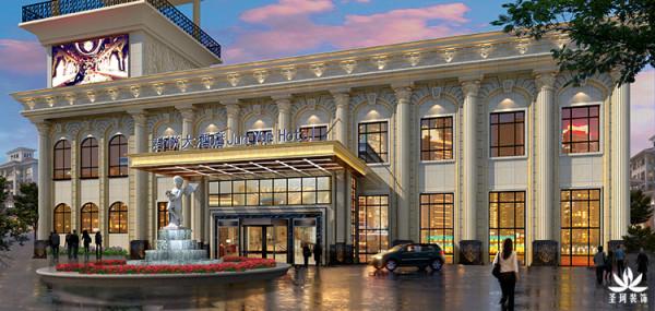 酒店整体外观