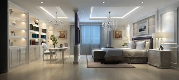天通苑西三区套内95平米两居室户型卧室效果图展示