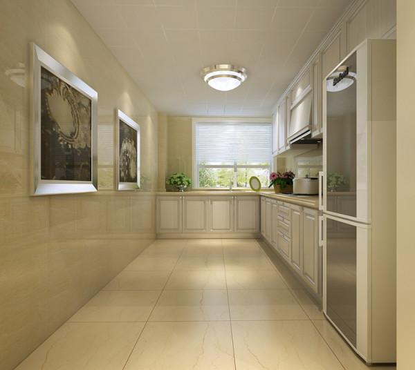 天通苑西三区套内95平米两居室户型厨房效果图展示