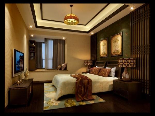 香榭丽都混搭风格餐厅卧室案例效果图,成都装修设计找龙发装饰