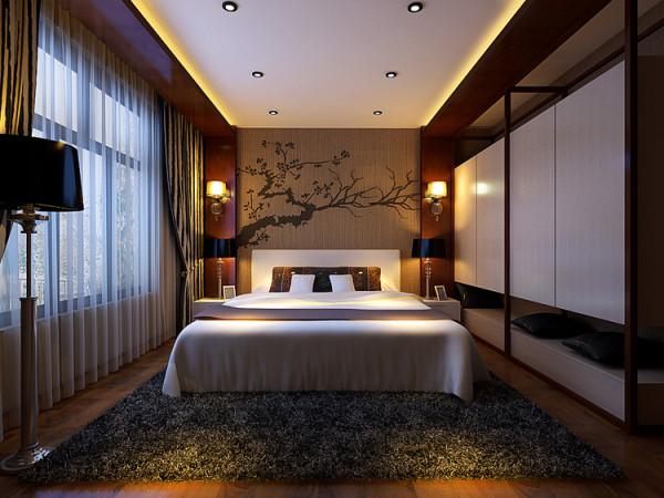 中豪汇景湾四室两厅卧室装修效果图
