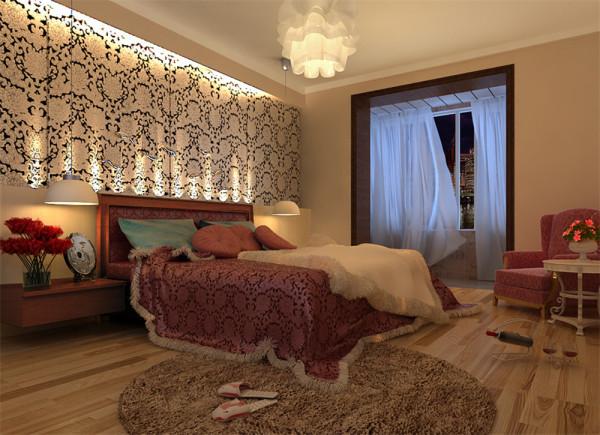 使客厅更具空间感,视觉更统一;然后将单调乏味的过道变成客厅与餐厅的过渡空间,使整个空间更协调更舒畅,最后用吊顶与地面铺贴将区域划分的更有层次感。