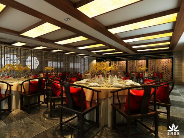 酒店餐厅大厅