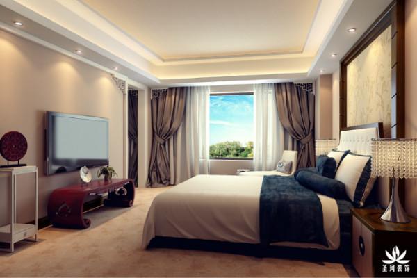 酒店套房卧室