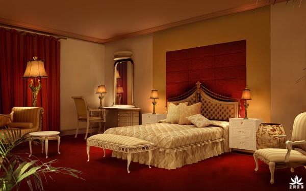 酒店欧式卧房