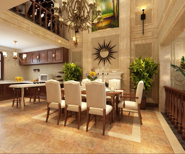 古典美式风格,以华丽的装饰、浓烈的色彩、精美的造型达到雍容华贵的装饰效果。