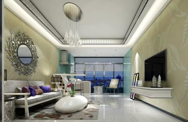 客厅的另一侧是玄关的位置,整个空间都显得很是宽敞大气,整个空间都是显现出别样的空间感,灵巧而美观,现代化十足。