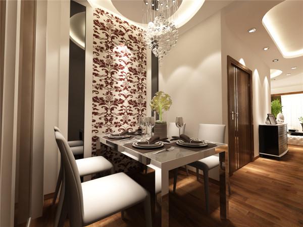 选择白色布艺沙发,与棕色的地板相衬托。显示了颜色上的明暗对比。浅色系是年 轻人的最爱,能彰显气质和视觉美感。