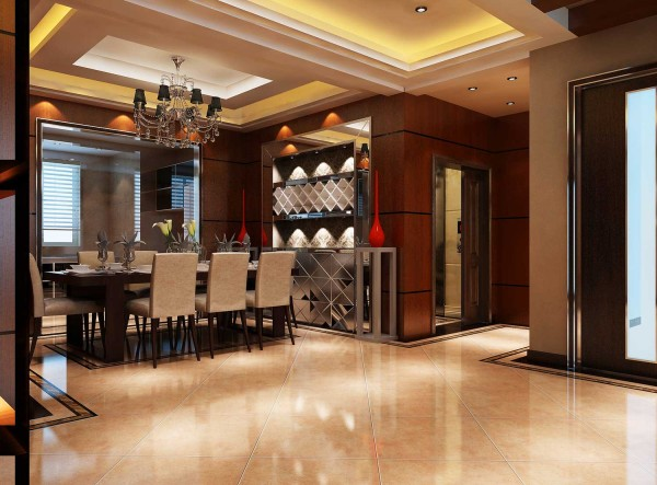 家具的主要特色是强调力度、变化和动感,沙发华丽的布面与精致的雕刻互相配合,把高贵的造型与地面铺饰融为一体。