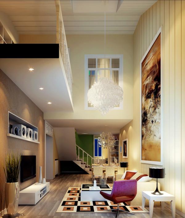本户型面积较小,所以此次设计方案定义为混搭风格。