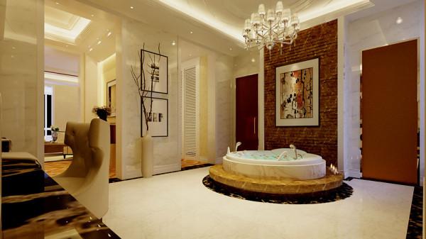 卫浴间  浴缸