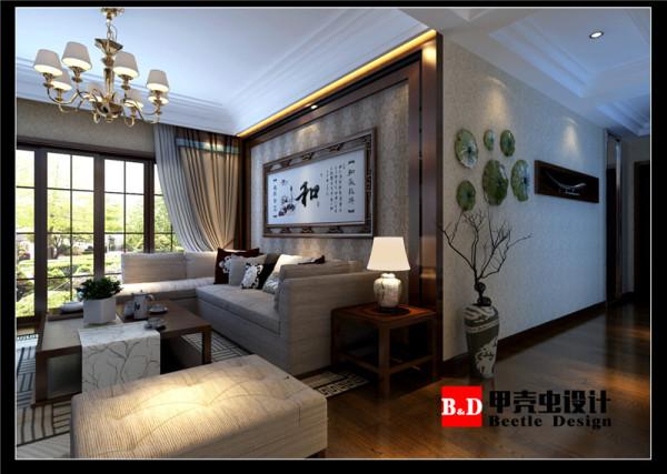 新中式风格设计,打造古墨新韵风