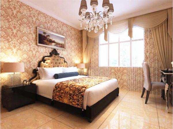 采用石膏线搭配欧式壁纸,摈弃了古典欧式的繁复,重新演绎了欧式风格的现代设计