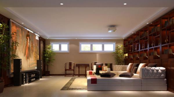 从功能性上去划分各个区域,客厅与餐厅在不影响通透性,光线,的前提下,运用红橡木楼梯杆,清混结合,区分这两个区域。