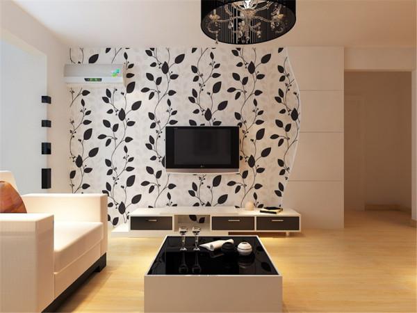 本案在设计上采用了现代简约风格,在功能方面,客厅是主任品味的象征,体现了主人品格,地位,也是交友娱乐的场合。