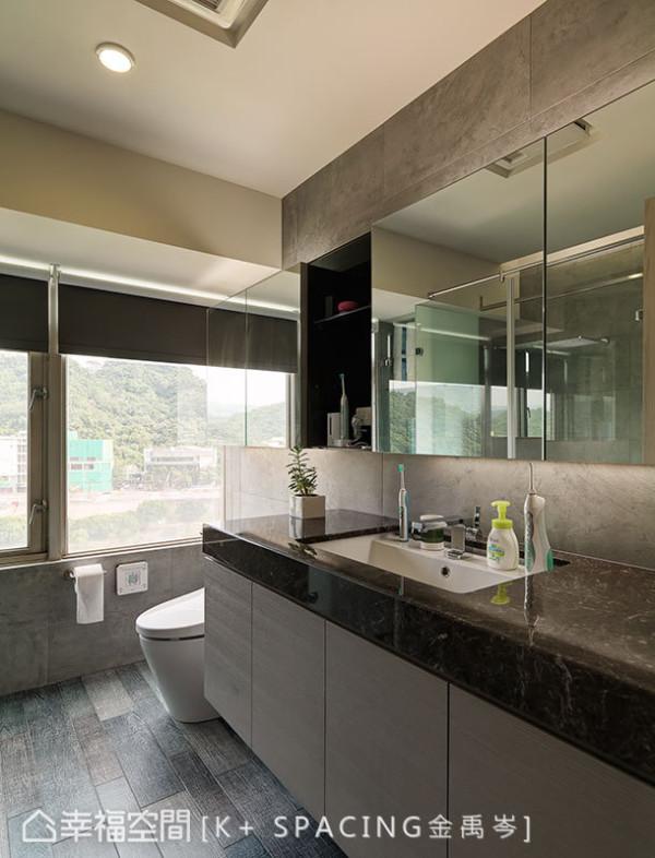 设计师也微调卫浴格局,更符合实际生活需求。