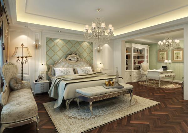 二楼卧室兼书房