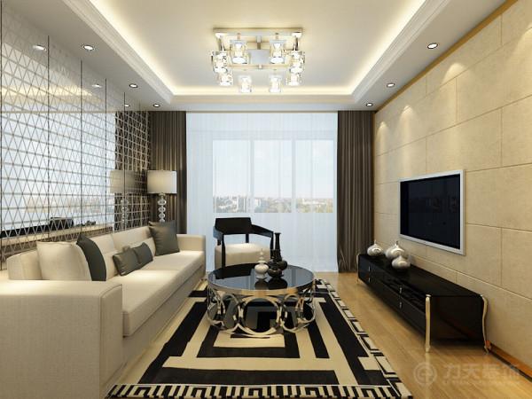 简约风格不仅注重居室的实用性,还体现出了现代社会生活的精致与个性。壁纸的朴素大方来装饰墙面,客厅是主人品位的象征,体现了主人品格,地位。