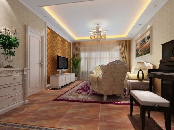 此套房型的装修采用了简欧的装修风格。