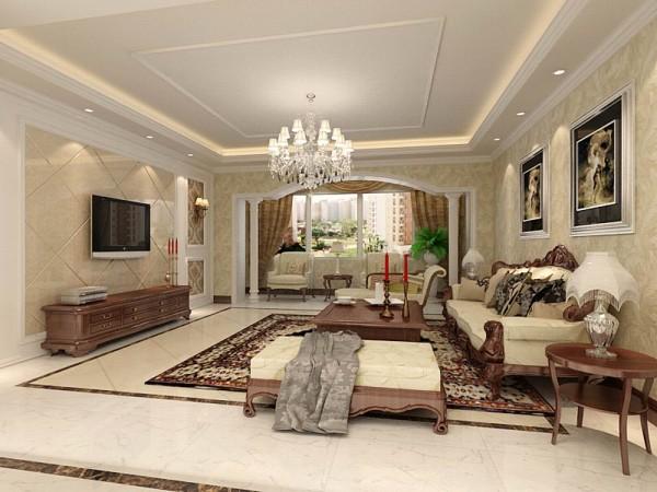 本案围绕简欧风格为主,简欧风格就是简化了的欧式装修风格。也是目前住宅别墅装修最流行的风格。简欧风格更多的表现为实用性和多元化。