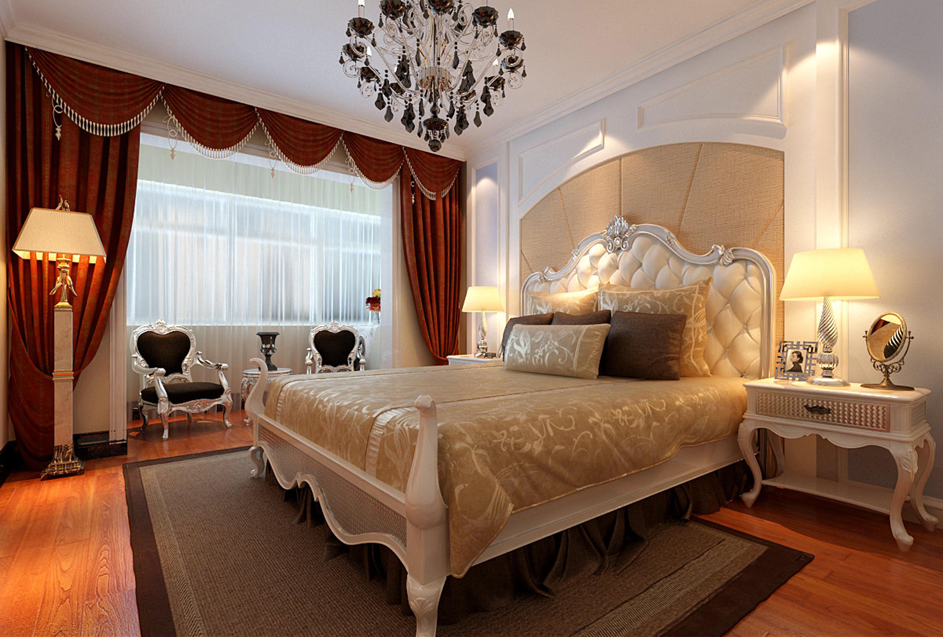 欧式 简约 三居 80后 卧室图片来自实创装饰装修在13万打造新古典欧式图片