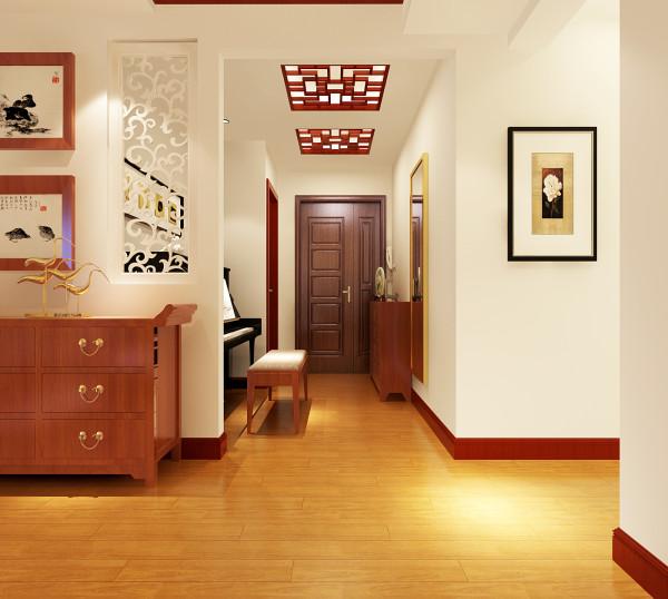 门厅:把门厅和主卧室之间的墙面进行了改造,把钢琴的位置放到了门厅为了使空间感觉不会嫌小,在侧打开了一扇小窗是光线能够进来,会更亮。