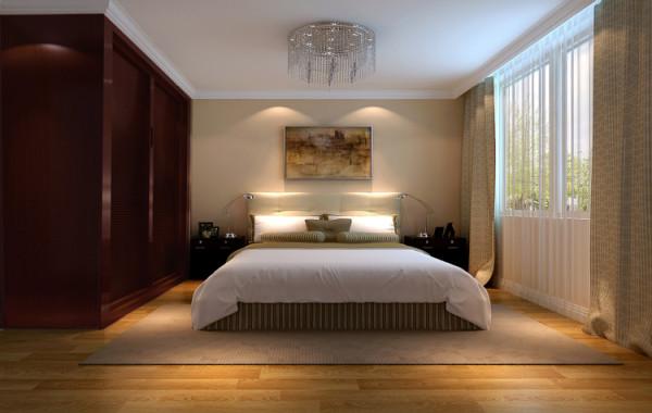 这次设计属于现代简约风格,主要以轻装修重配饰为主。简单而不简约, 设计师通过后期的软装配饰将空间层次划分开,所有墙面采用米黄色调体现了简约 中的温馨。