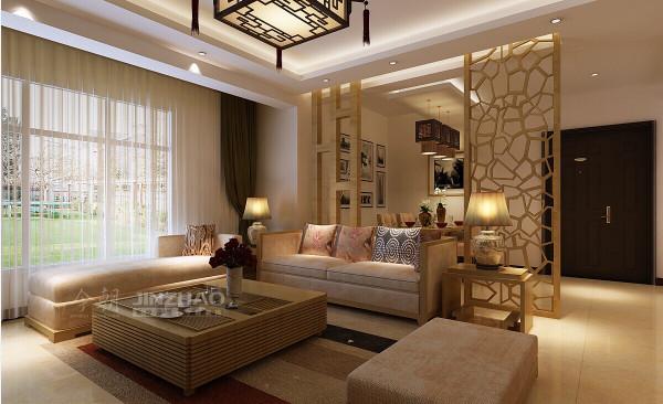 【案例信息】:天鹅堡141平四居室中式装修风格(本小区装修设计81套)