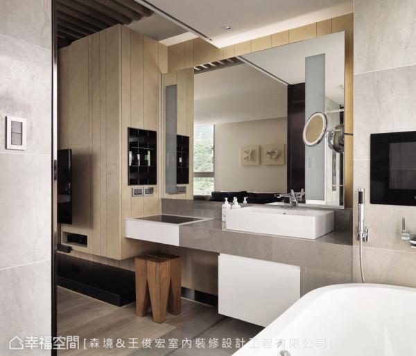 本案的设计重点以年轻屋主为对象,利用有限的空间缔造品味的宅邸,发挥空间的无限潜能。