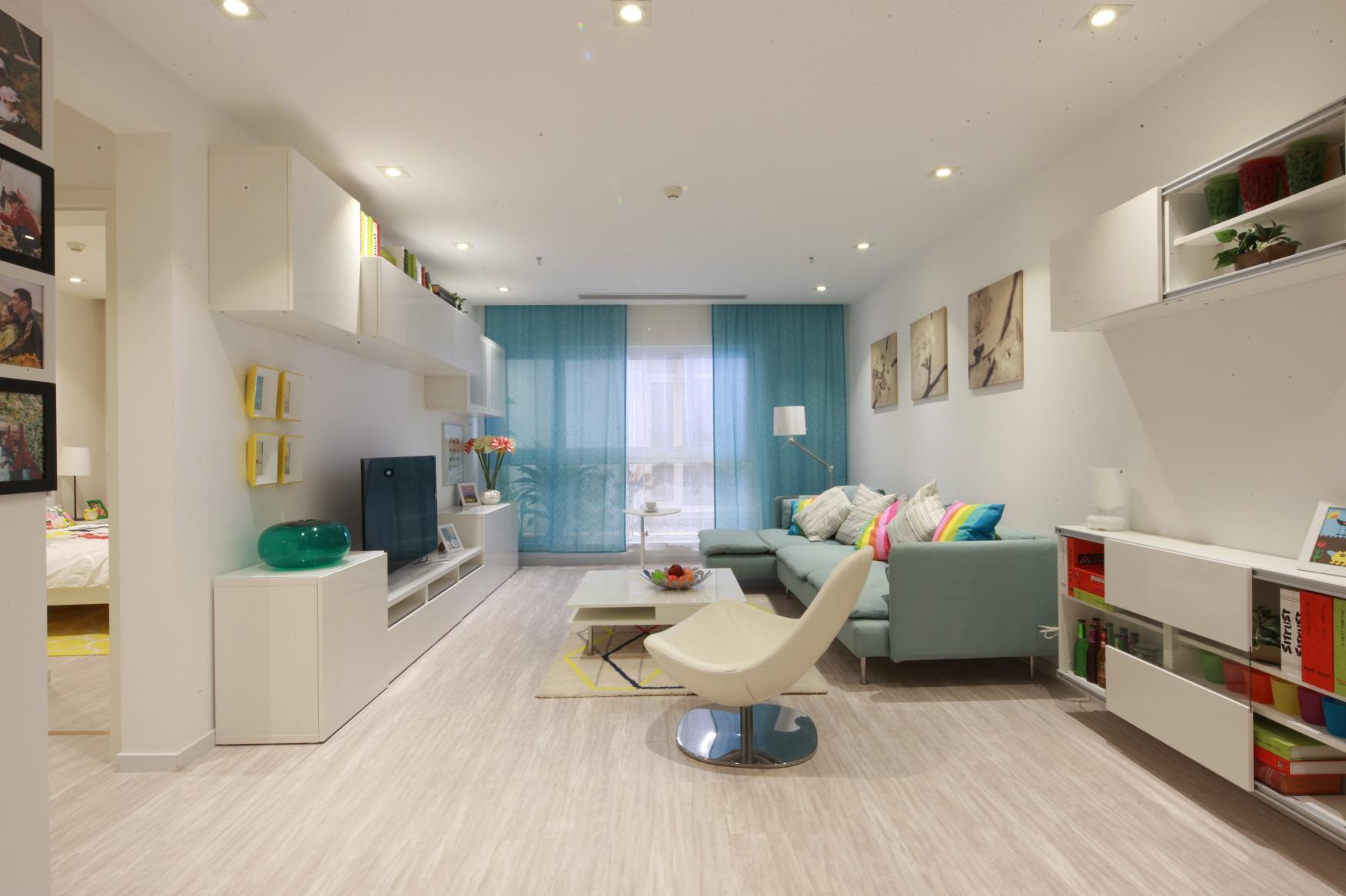 简约宜家风格两居室小户型装修客厅