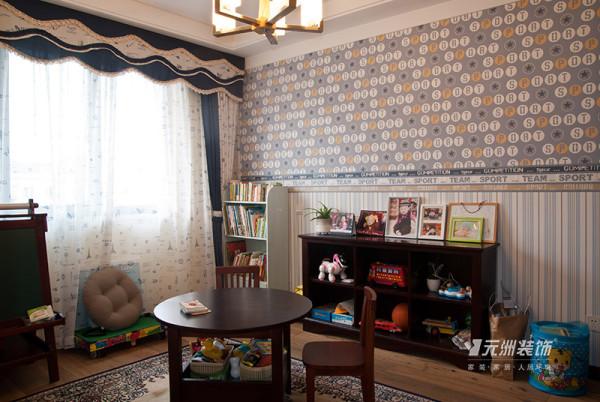 简约 欧式 日式风格 鑫界王府 室内设计 别墅 三居 收纳 儿童房图片