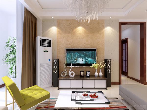 本案为海河大观高层标准层户型2室2厅1卫1厨88.00㎡的户型。这次的设计风格定义为现代简约风格。
