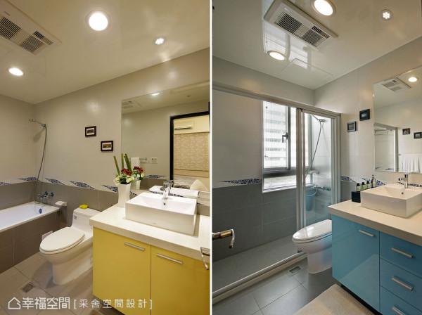 格局修改过程,都不更动原始卫浴空间,以免未来容易产生漏水问题。
