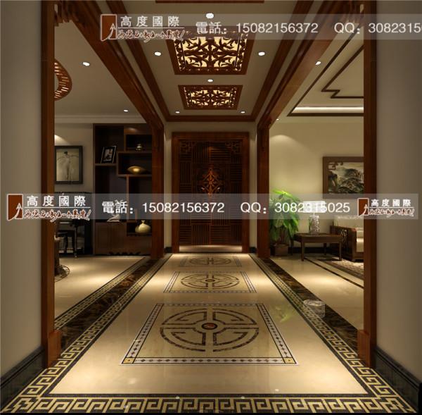 佳乐国际门厅细节效果图-成都高度国际装饰
