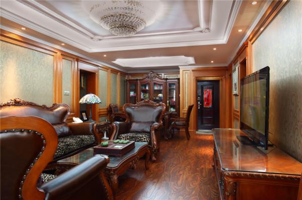 美式 聚通装璜 客厅图片来自jtong0002在九州湖滨国际公寓美式风格