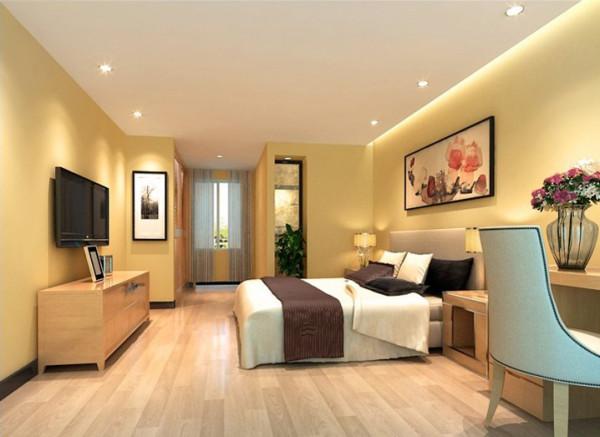 设计理念:紧凑简单的设计手法更能让人体会带舒适的空间感受。 亮点:紧凑的家具布置充分的利用了空间,舒适温馨。