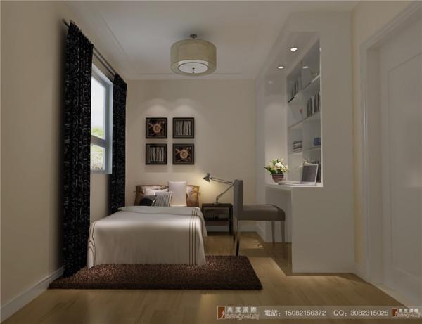 中粮祥云次卧室细节效果图-成都高度国际装饰