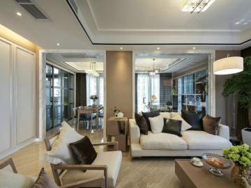 23万打造160平四房现代时尚公寓
