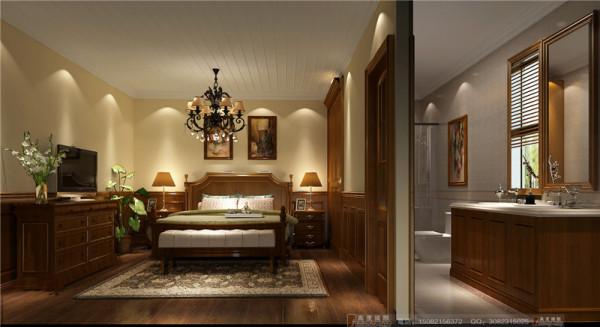 蔚蓝卡地亚老人房细节效果图-成都高度国际装饰