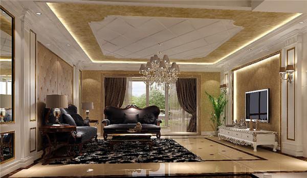 欧式风格在 形式上以浪漫主义为基础,常用大理石、华丽多彩的织物、精美的地毯、多姿曲线的家具,让室内显示出豪华、富丽的特点,充满强烈的动感效果