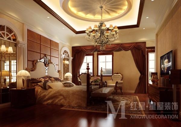 蓝光观岭欧式新古典设计卧室