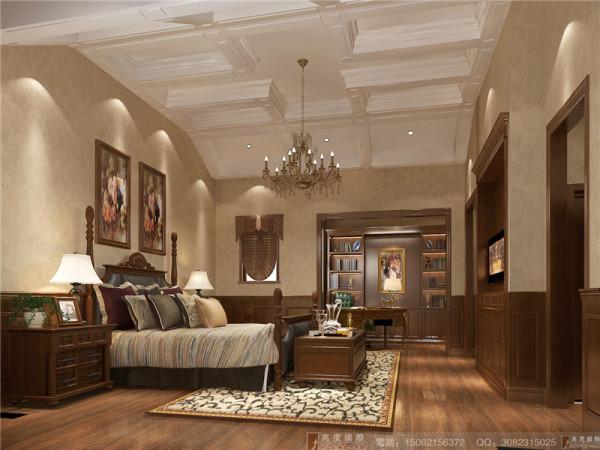 北欧知识城卧室细节效果图-成都高度国际装饰