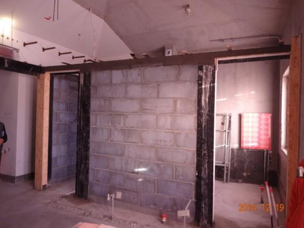 轻体墙砌筑