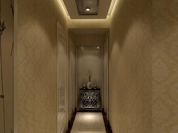 走廊--不需要多少点缀,简简单单,实用性极强!